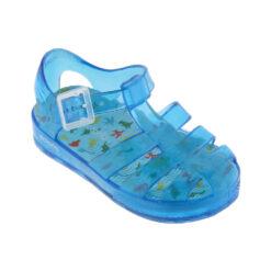sandalia cangrejera azul Vitoria