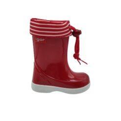 bota de agua rojo Igor