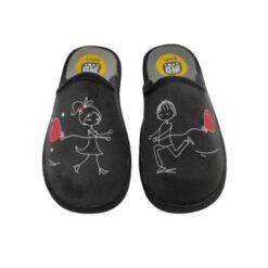 Zapatilla se me ríen los pies enamorados Laro.